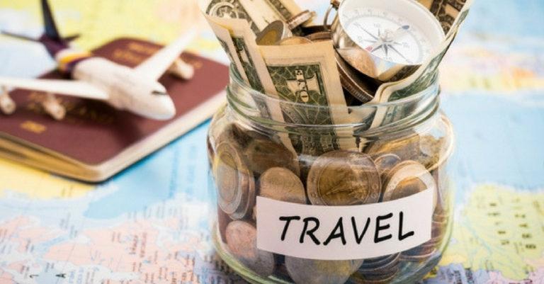 savings in a jar - budget travel