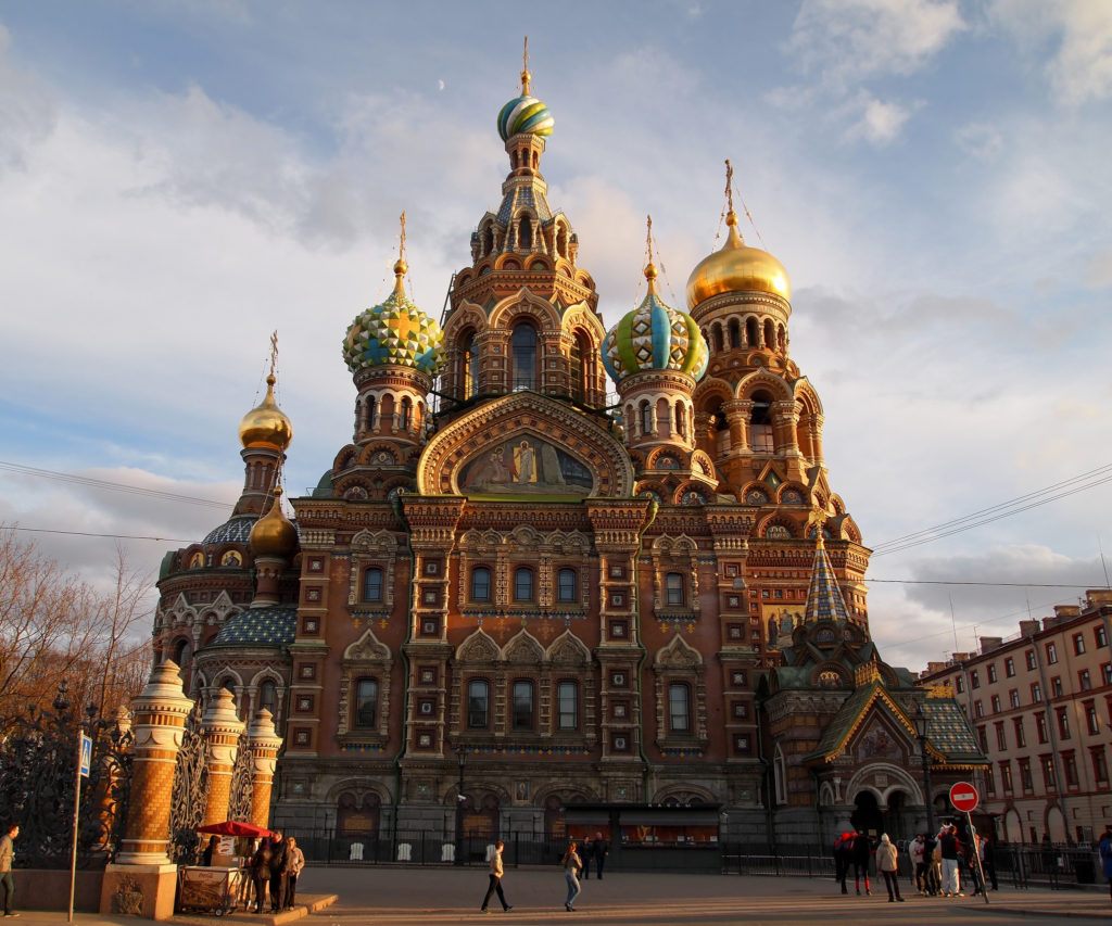 church of the savior on spilled blood st petersburg