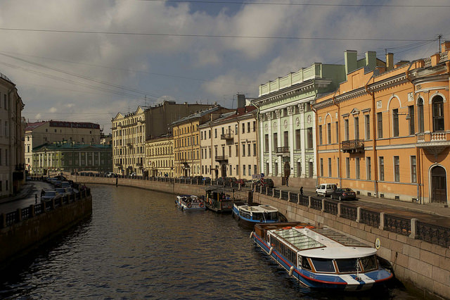 st petersburg's canal